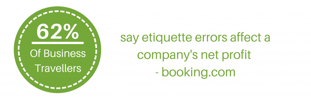 cross-cultural training: 62% of business travellers say etiquette errors affect the bottom line -booking.com