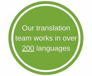 Why choose our translation services?