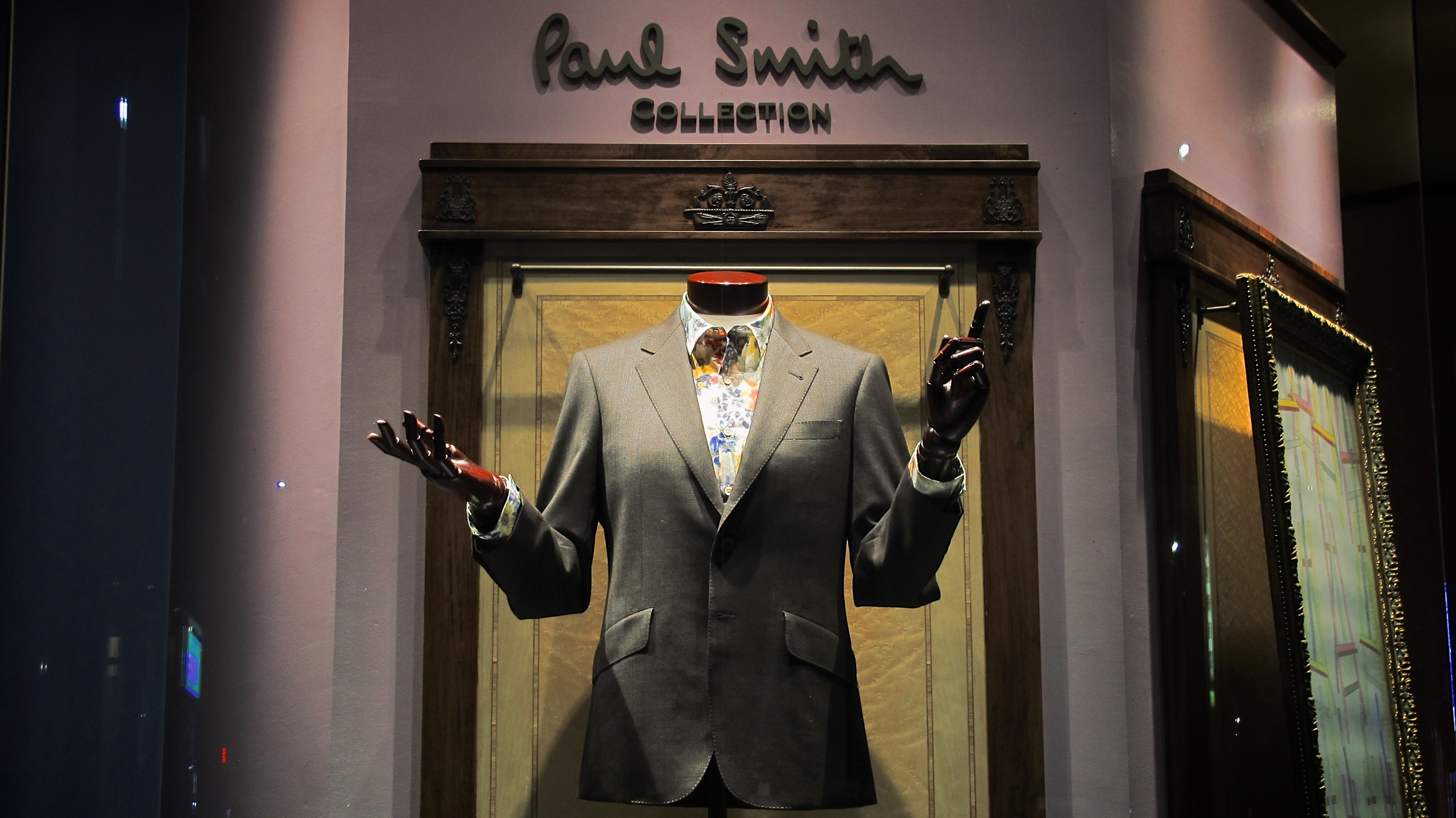 Picture of Paul Smith clothing in Japan