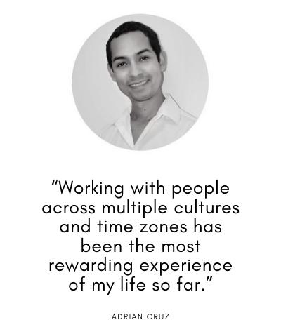 Adrian Cruz on his career in teaching